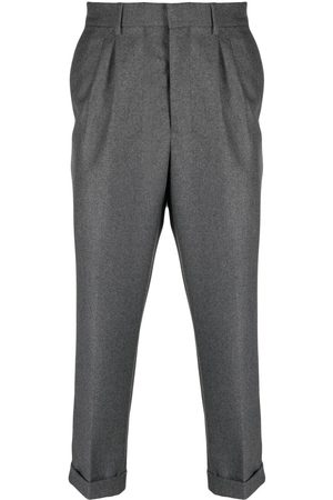 Ami Carrot fit pleated trousers