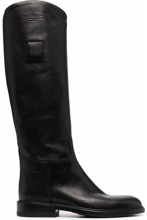 Buttero Women Knee High Boots - Knee-length leather boots