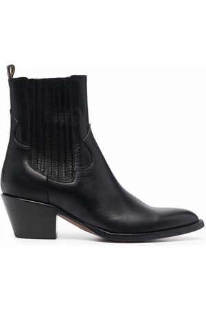 Buttero Women Ankle Boots - Pointed ankle-length boots