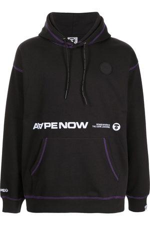 AAPE BY A BATHING APE Men Hoodies - Aape Now contrast-trim hoodie