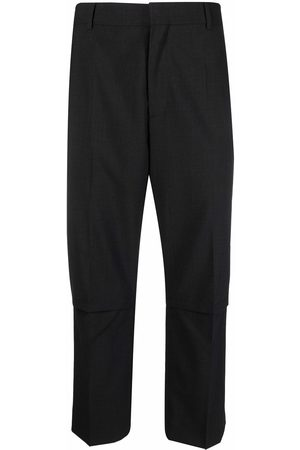 A BETTER MISTAKE Pants - Mistake pressed-crease cropped trousers