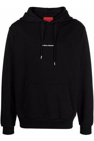 A BETTER MISTAKE Essential logo-print hoodie