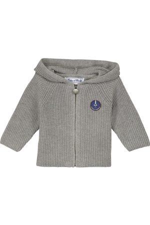 Tartine Et Chocolat Baby hooded cotton-blend cardigan