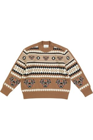 Burberry Wool and cashmere Fair Isle sweater