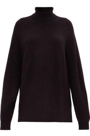 Raey Women Turtlenecks - Recycled-cashmere Blend Roll-neck Sweater - Womens
