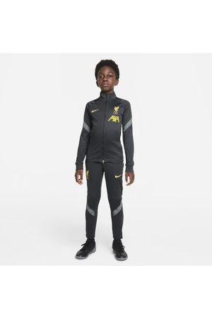 Nike Liverpool F.C. Strike Older Kids' Dri-FIT Knit Football Tracksuit
