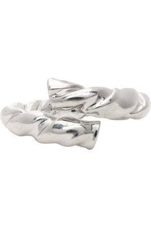 Loewe Silver Nappa Twist Ring