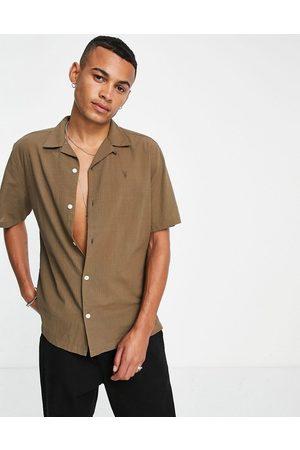 AllSaints Revere collar shirt in -Green