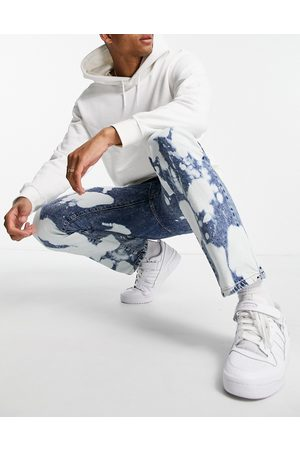 Topman Straight jeans in extreme -Blue