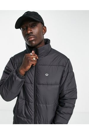 adidas Padded stand jacket in