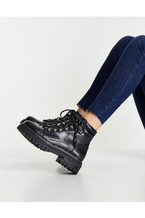 Whistles Women Lace-up Boots - Amber lace up boots in