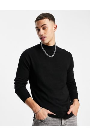 River Island Roll Neck Knitted Jumper In