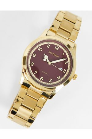Sekonda Women Watches - Womens bracelet watch with red dial in