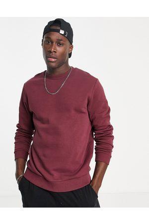ASOS Men Sweatshirts - Sweatshirt in -Red