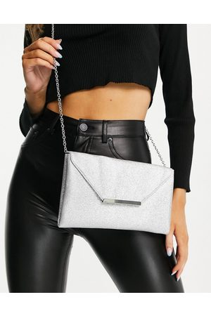 Accessorize Women Clutches - Clutch bag with chain in