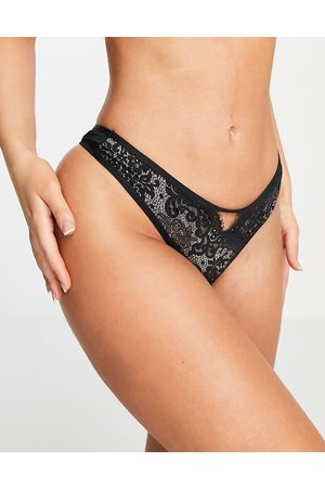 Hunkemöller Women Lingerie Thongs - Cardi lace thong in