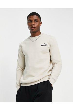 PUMA Men Sweatshirts - Essentials logo sweatshirt in -Neutral