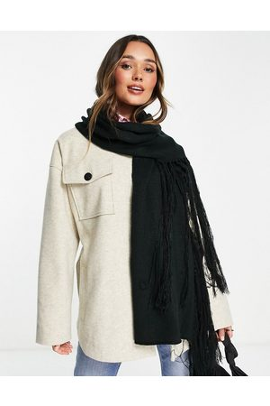 Urban Code Women Scarves - Knitted oversized scarf in