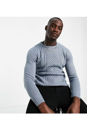 Le Breve Tall heavy cable knit jumper in