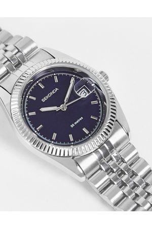 Sekonda Unisex bracelet watch with blue dial in