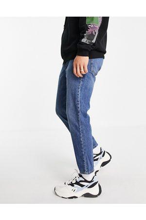 ASOS Classic rigid jeans in -Blue