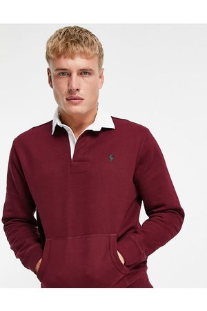 Polo Ralph Lauren Icon logo rugby sweatshirt in -Red