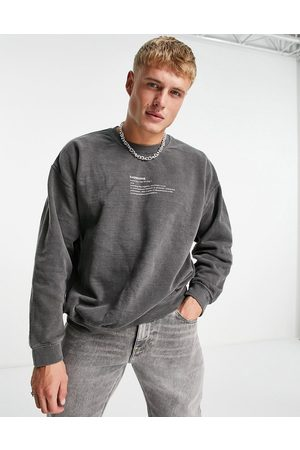 Topman Colossal print oversized sweat in