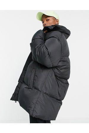 ASOS Oversized longline puffer jacket in