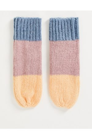 Urban Code Colour block gloves in