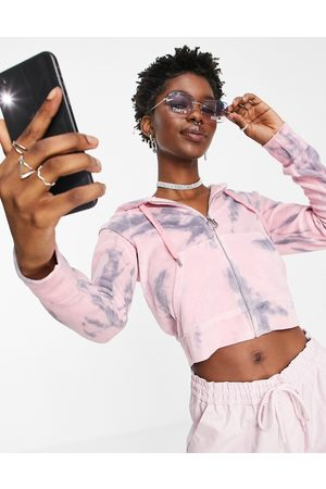 Juicy Couture Co-ord anniversary collection velour hoodie in acid wash