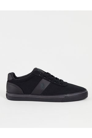Polo Ralph Lauren Canvas hanford sneakers with tonal logo in