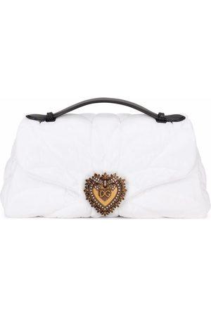 Dolce & Gabbana Women Shoulder Bags - Large quilted Devotion shoulder bag