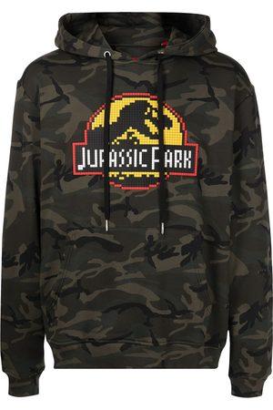MOSTLY HEARD RARELY SEEN Men Hoodies - Jurassic Park-print cotton hoodie