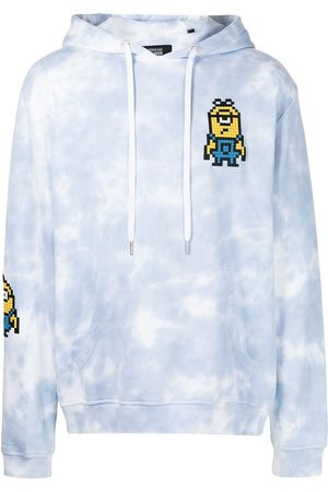 MOSTLY HEARD RARELY SEEN Men Hoodies - Floating Minions-print cotton hoodie