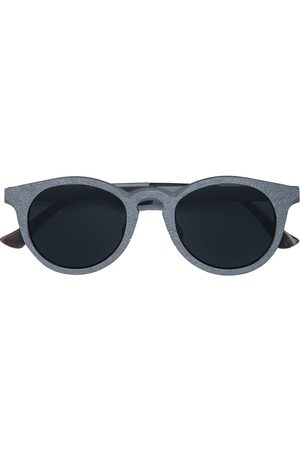RIGARDS Sunglasses - Textured circle-frame sunglasses