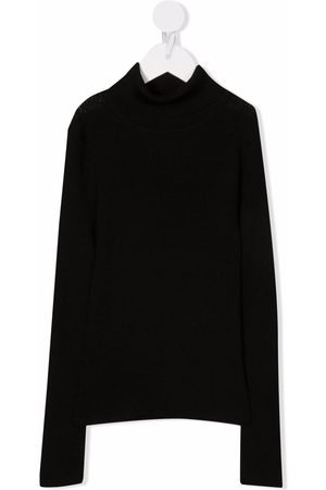 P.a.r.o.s.h. Girls Turtlenecks - Roll-neck wool jumper