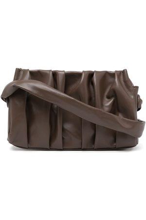 Elleme Women Shoulder Bags - Vague ruched shoulder bag