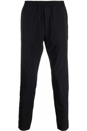 Hydrogen Elasticated-waistband cropped track pants