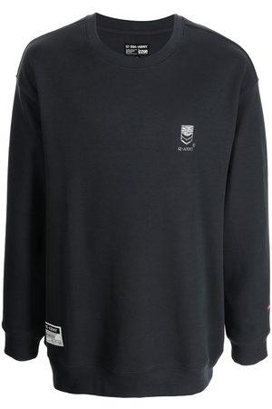 Izzue Men Sweatshirts - Logo-print fleece sweatshirt