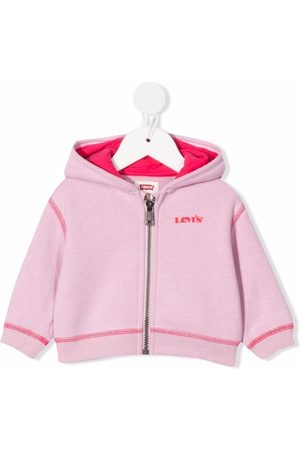 Levi's Two-tone zipped hoodie