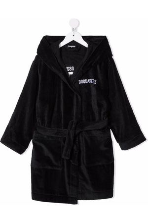 Dsquared2 Embroidered-Icon robe