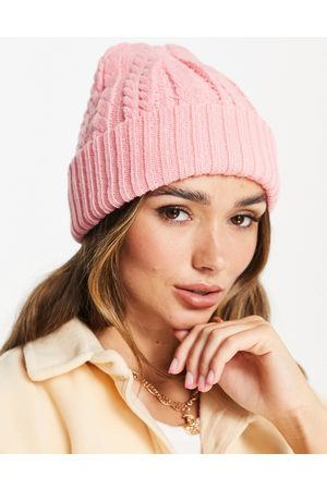 Urban Code Women Beanies - Cable knit beanie in