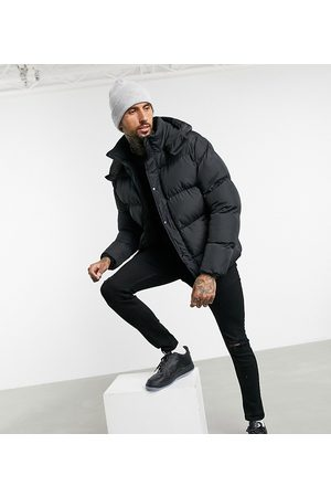 ASOS Recycled puffer jacket with detachable hood in