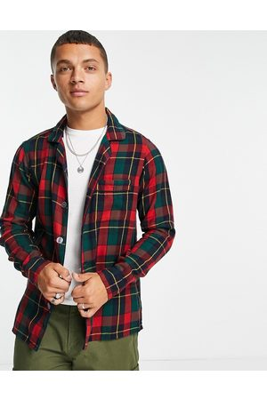 Polo Ralph Lauren Check luxury flannel overshirt jacket classic oversized fit in