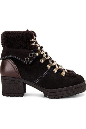 See by Chloé Women Boots - Eileen Shearling Lined Bootie in .