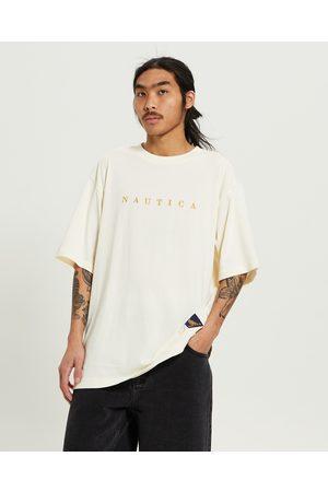 Nautica Men Short Sleeve - Embroidery T-shirt Almond
