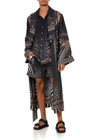 Camilla Men Neckties - Long Line Robe Quechua King, S/M