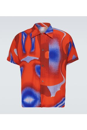 ERL Printed short-sleeved shirt