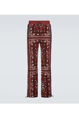 AMIRI Bandana printed fleece sweatpants
