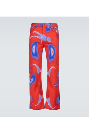 ERL Printed denim pants
